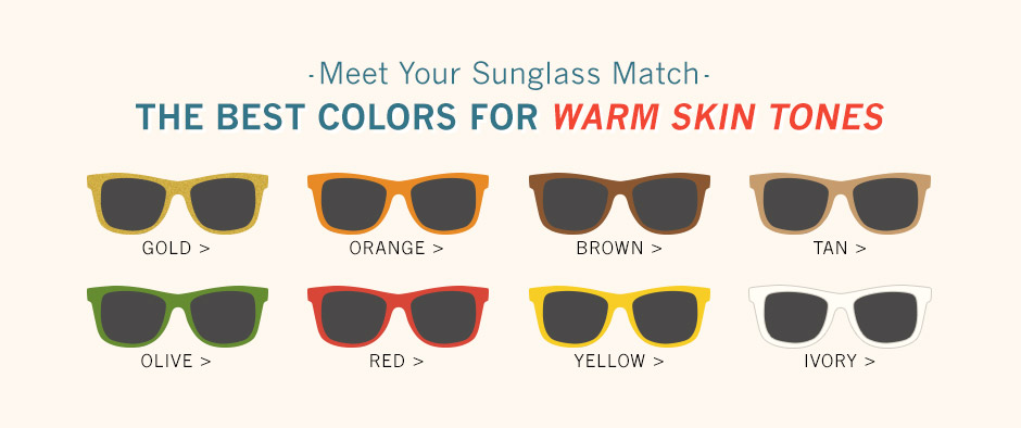 best colors for warm skin tones