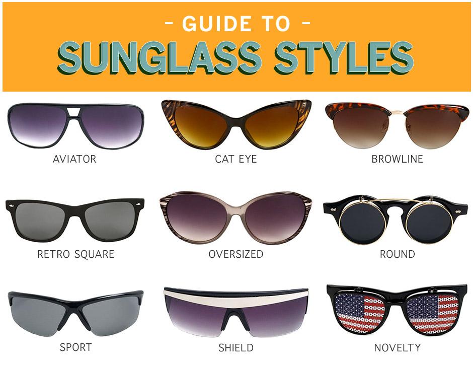 Sunglass Types