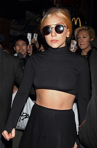 lady gaga in sunglasses