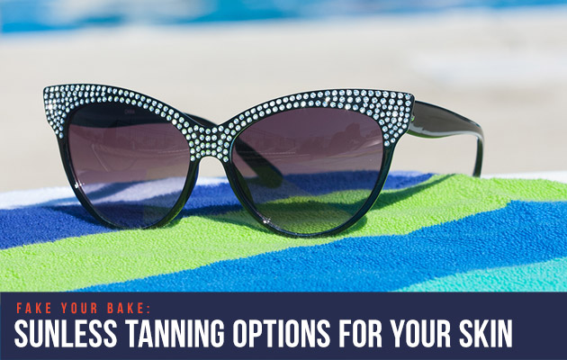 fake tanning options