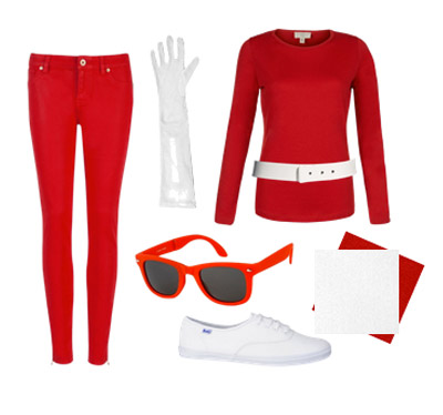 Power Rangers costume