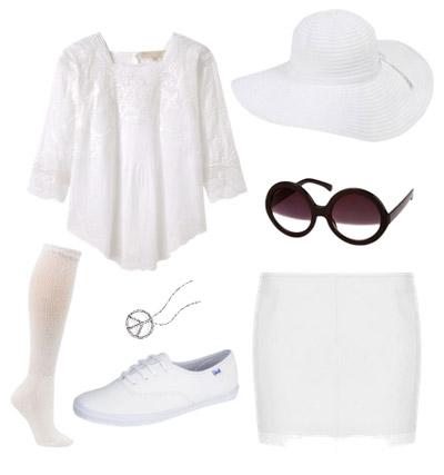 Yoko Ono costume