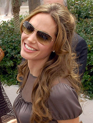 Angelina Jolie in sunglasses