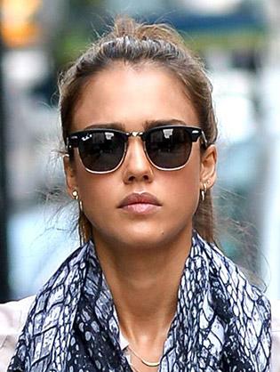Jessica Alba in sunglasses