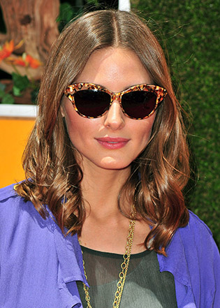 Olivia Palermo in sunglasses