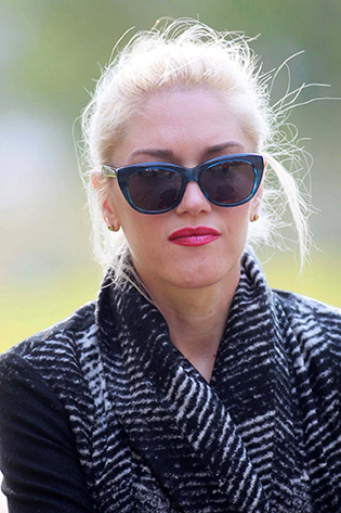 Gwen Stefani wearing sunglasses
