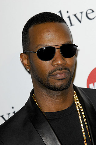 Juicy J wearing sunglasses