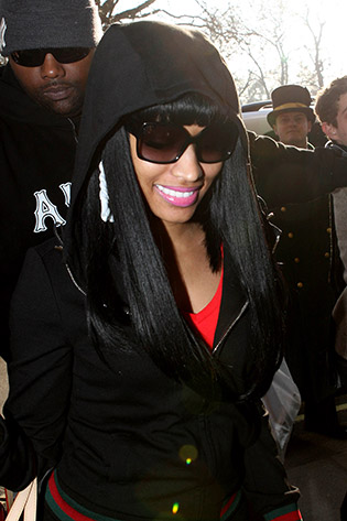 Nicki Minaj wearing sunglasses