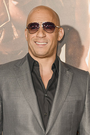 Vin Diesel wearing sunglasses