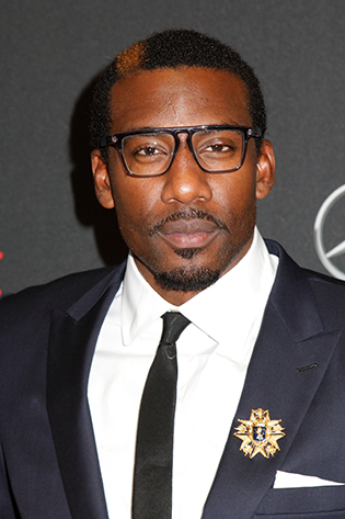 Amar'e Stoudemire in glasses
