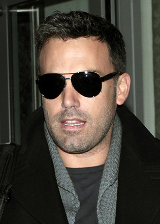 Ben Affleck in aviator sunglasses