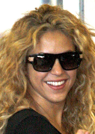 Shakira sunglass style