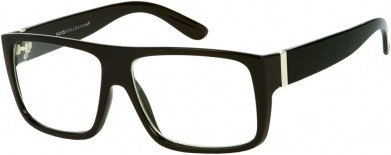 Amar'e Stoudemire clear flat top glasses