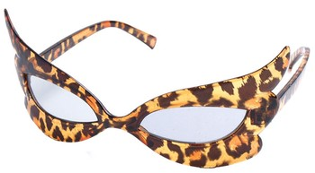 Leopard Print Cat Eye Sunglasses from sunglasswarehouse.com