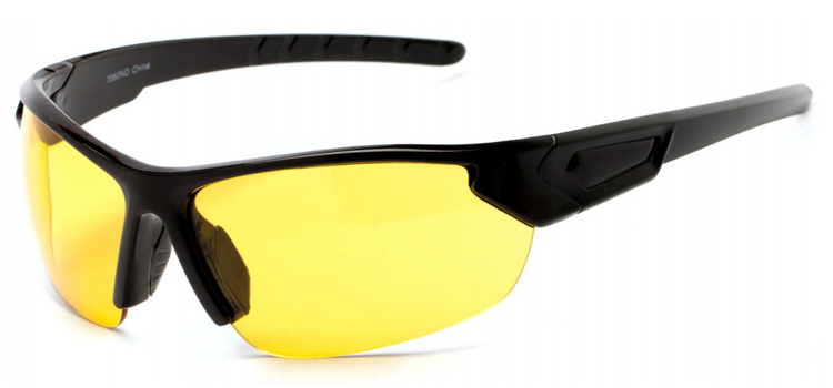 yellow tinted running sunglasses