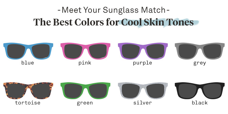 Sunglasses for Cool Skin Tones