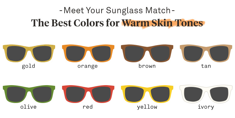 Sunglasses for Warm Skin Tones