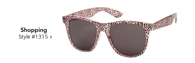printed sunglasses for shopping