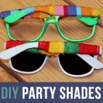 DIY Cinco De Mayo Sunglasses