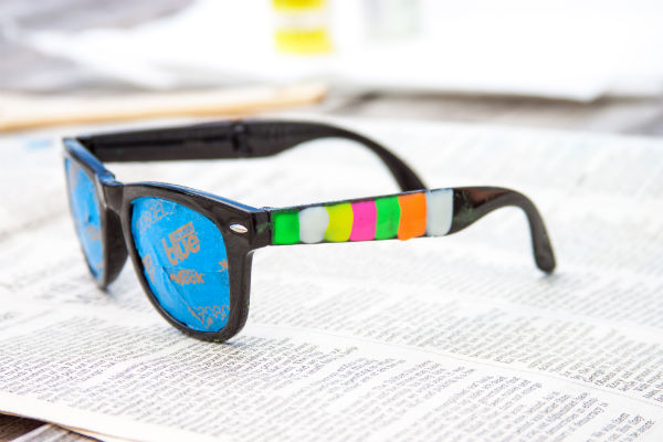 DIY Glow-in-the-Dark Sunglasses