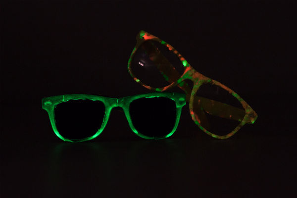 DIY Glow-in-the-Dark Shades