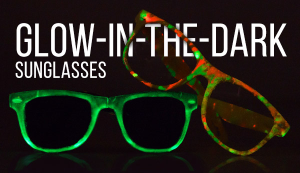Glow-in-the-dark Sunglasses