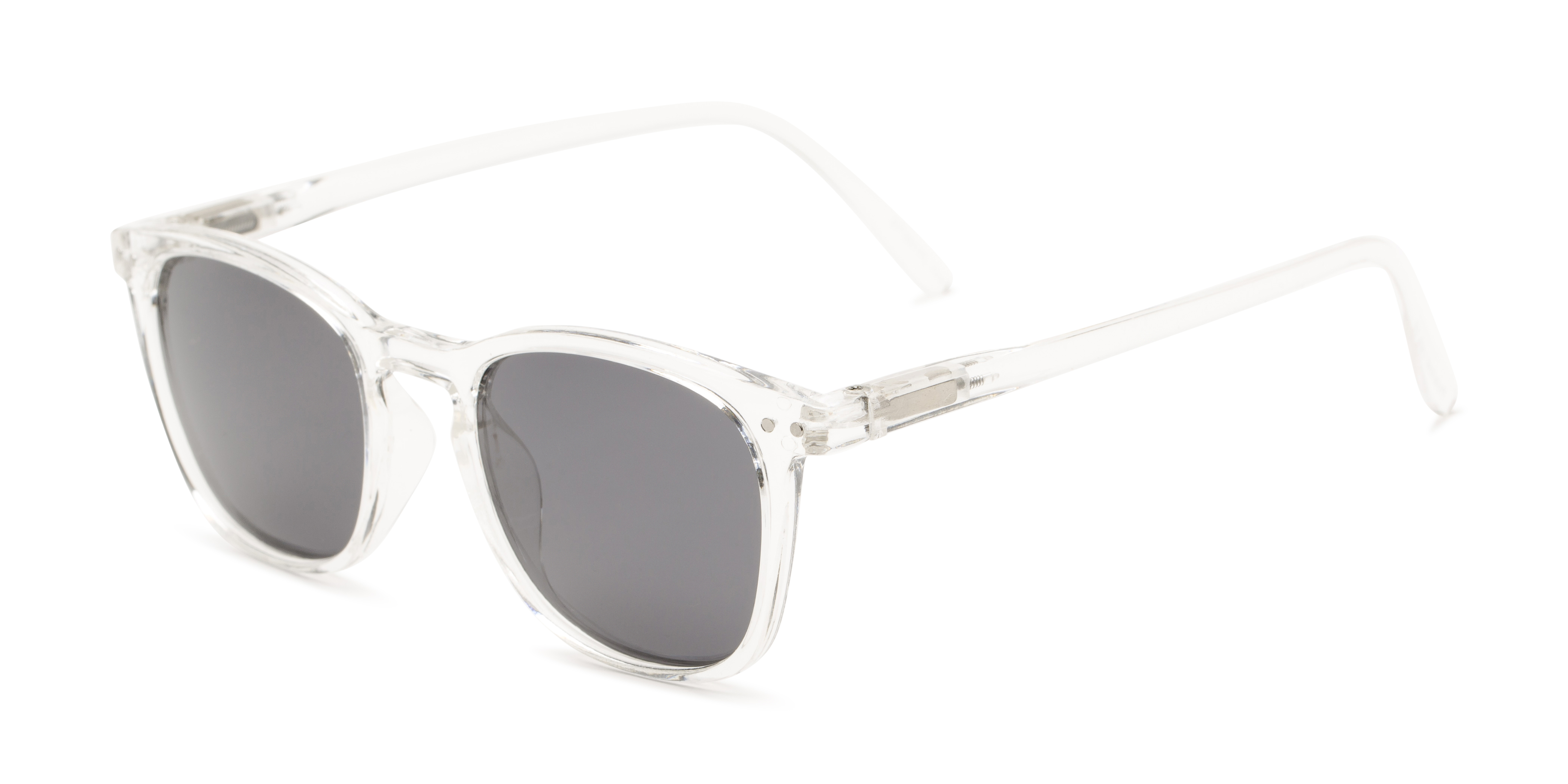Bartlett Clear Frame with Smoke Lenses