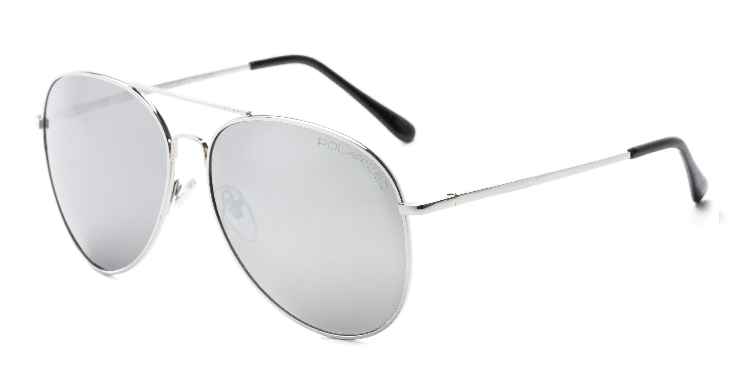 Vista Silver Frame with Mirrored Lenses
