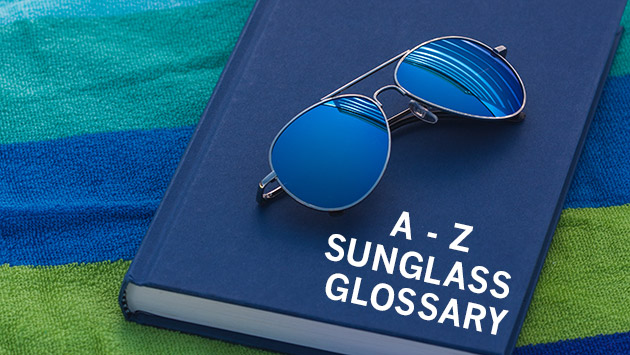 glossary of sunglass definitions