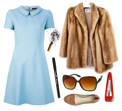 DIY Margot & Richie Tenenbaum Costumes