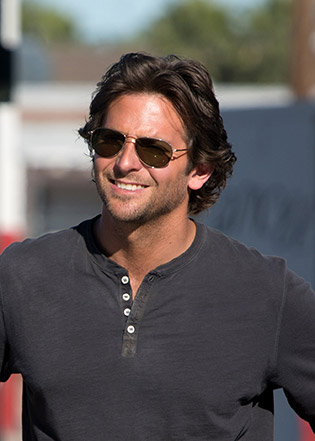 Bradley Cooper in sunglasses