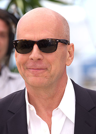 Bruce Willis in sunglasses