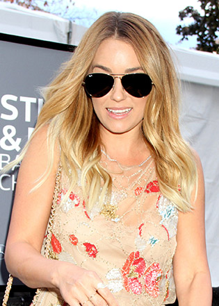 Lauren Conrad in sunglasses