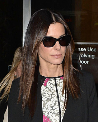 Sandra Bullock in sunglasses
