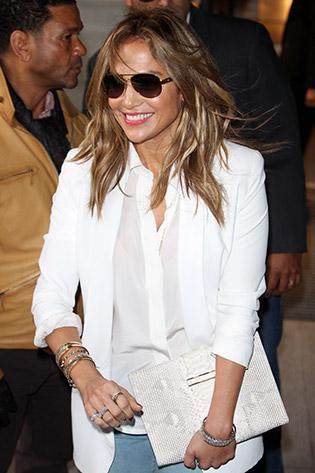 Sunglass Style Jennifer Lopez