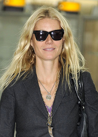Gwyneth Paltrow in retro sunglasses