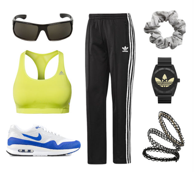 good sporty spice outfits