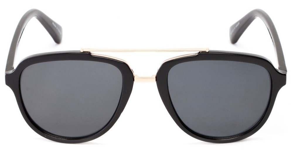 oversized black aviator sunglasses 89f2  Thames #1401