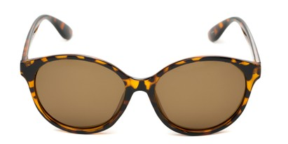 womens polarized oversized round