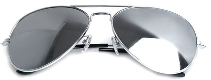 Image #3 of Women's and Men's SW Silver Aviator Style #1678