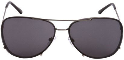 Image #1 of Women's and Men's SW Rimless Aviator Style #323