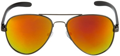 Image #1 of Women's and Men's SW Mirrored Aviator #8245