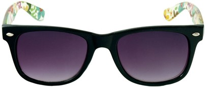 Flower Power Wayfarer Style Sunglasses