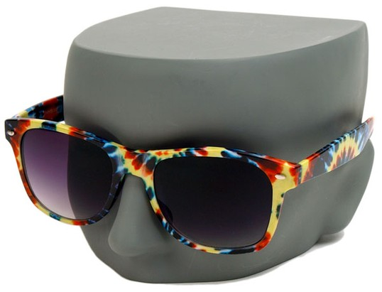 Tie Dye Retro Sunglasses
