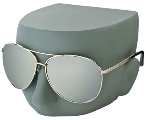 Image #3 of Women's and Men's SW Mirrored Aviator Style #1905