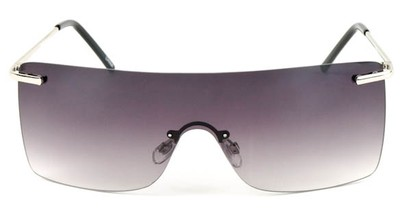 Image #1 of Women's and Men's SW Rimless Shield Style #1826