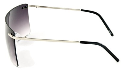 Image #2 of Women's and Men's SW Rimless Shield Style #1826