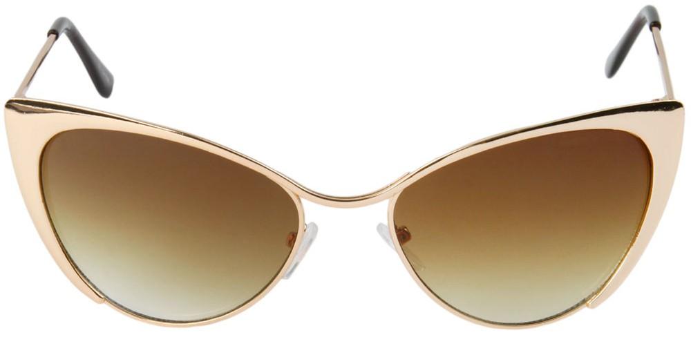 Cat Eye Sunglasses Metal
