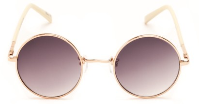 round metal womens sunglasses