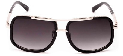 mixed material aviators